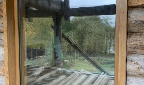 Браславские озера, окна из термососны