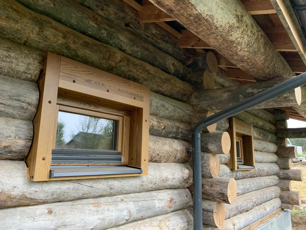 Браславские озера, окна и входные двери из термососны