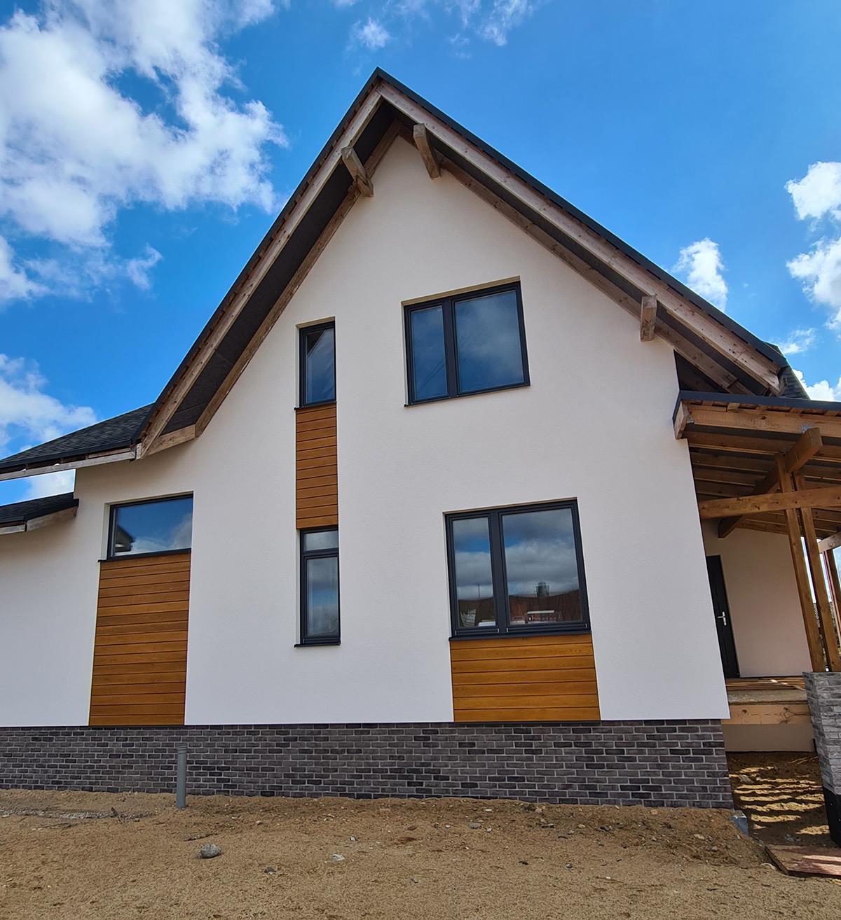 Деревянные окна, а.г. Раков, Минская область