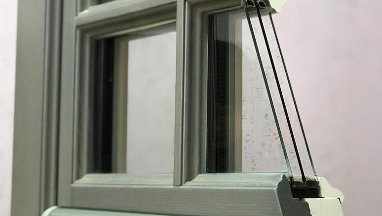 Retro Line Рустикальное окно  - 78/90 профиль